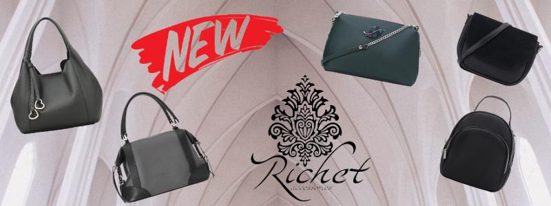 Richet-качественные и стильные сумочки!РАСПРОДАЖА 590р