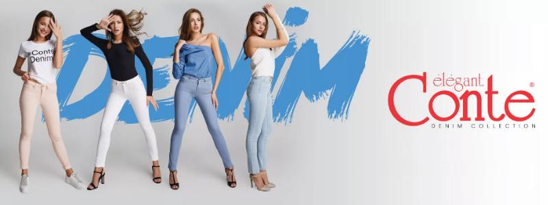 Наслаждайтесь комфортом и красотой вашего силуэта в джинсах от CONTE!