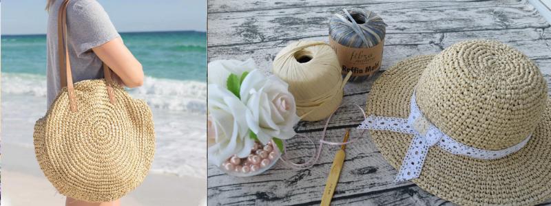 """Готовимся к лету с """"рукоделоманией"""". Пряжа для вашей самой красивой шляпки и сумочки для пляжа. Новое поступление хлопковой и трикотажной пряжи."""