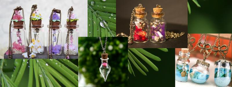 Сохрани кусочек лета на весь год! Все для создания миниатюрного украшения в одной закупке.