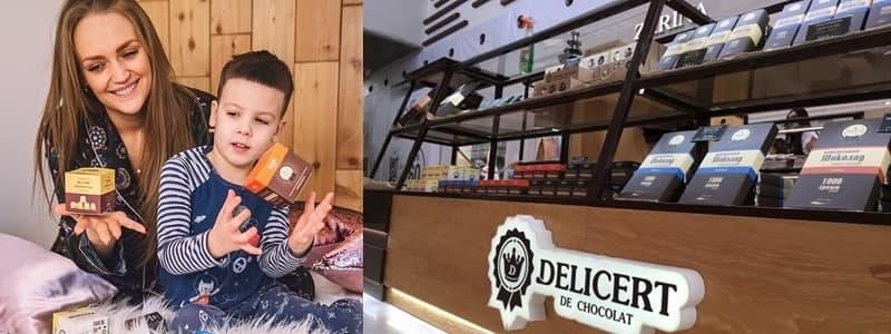Delicert de chocolate- cказочно нежный шоколад!
