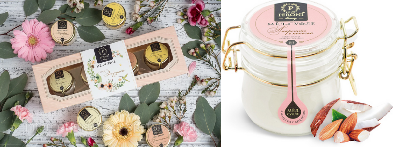 """""""Peroni Honey"""" — 100% натуральный и очень вкусный мёд-суфле."""