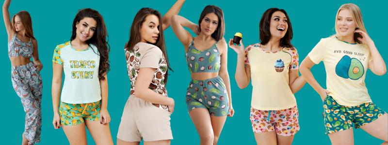 Модные, тоненькие, приятные к телу пижамки на лето!