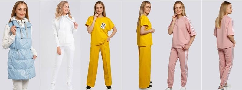 Gipnoz. Трикотажные костюмы. Можно подобрать верх и низ разного размера.