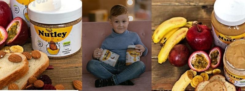 Nutley. Ореховые пасты, которые любят взрослые и дети.