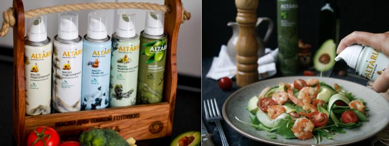 Любое блюдо идеально с маслом ALTARIA!!