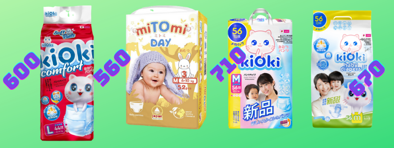 Акция на miTOmi Day и KIOKI до 10.05.