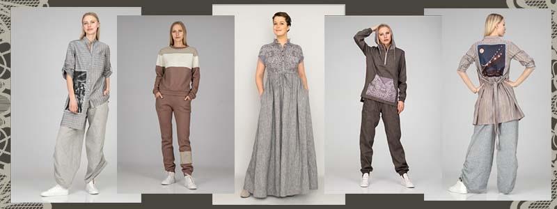 Льняная одежда от ВОЛТРИ это качество, красота и удобство! Размеры до 64!
